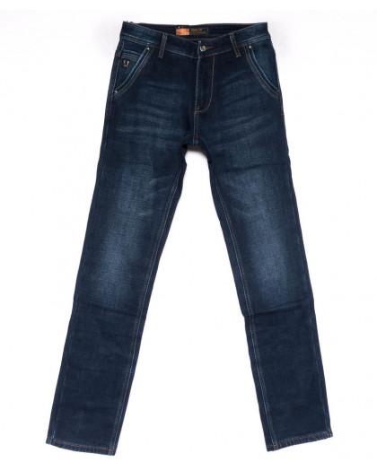 18246 Vouma-Up джинсы мужские синие на флисе зимние стрейчевые (29-36. 8 ед.) Vouma-Up