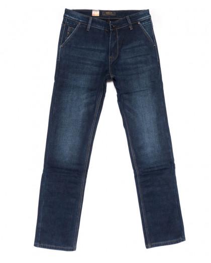 18244 Vouma-Up джинсы мужские синие на флисе зимние стрейчевые (29-38. 8 ед.) Vouma-Up
