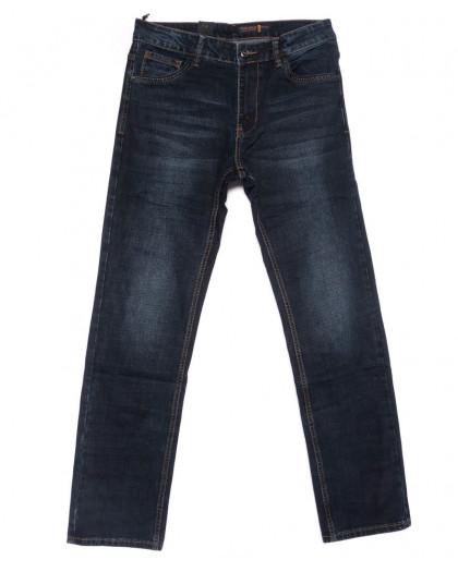 8233 Fhous джинсы мужские полубатальные синие осенние стрейчевые (32-38, 8 ед.) FHOUS