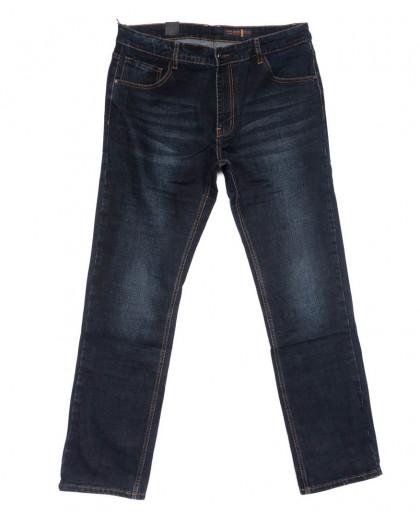 8231 Fhous джинсы мужские полубатальные синие осенние стрейчевые (32-42, 8 ед.) FHOUS