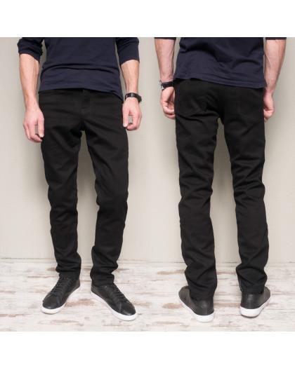 5022 Dsouaviet джинсы мужские черные на флисе зимние стрейчевые (30,33,34,36,38, 5 ед.) Dsouaviet
