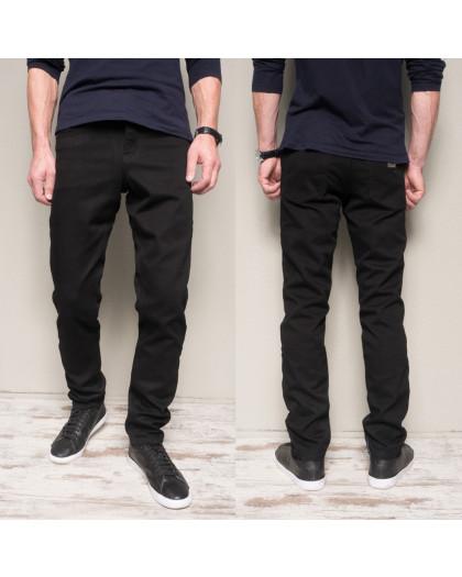 5005 Dsouaviet джинсы мужские черные на флисе зимние стрейчевые (29-38, 8 ед.) Dsouaviet