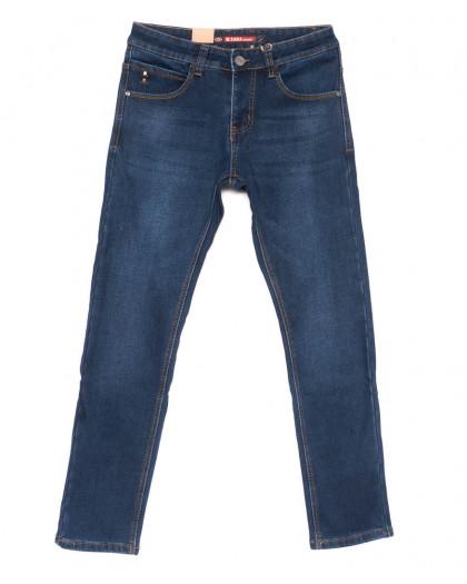 1291 синие M.Sara джинсы мужские на флисе зимние стрейчевые (31-39, 6 ед.) M.Sara