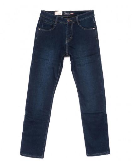 19132-2 синие Viman джинсы мужские на флисе зимние стрейчевые (30-41, 6 ед.) Viman