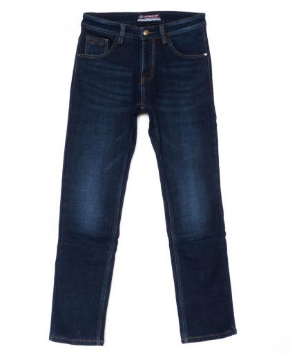 8219 Vouma-Up джинсы мужские синие молодежные на флисе зимние стрейчевые (28-36, 8 ед.) Vouma-Up