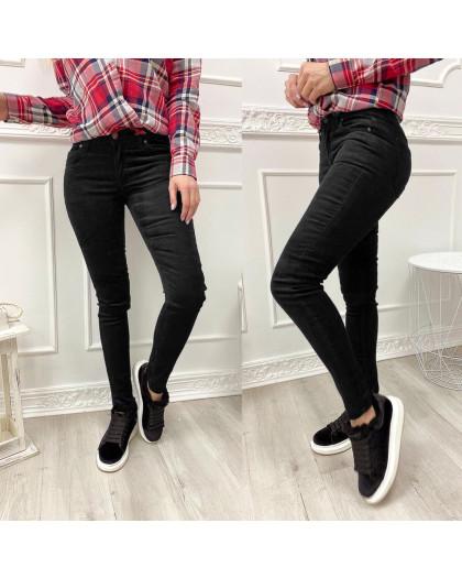 2652 Xray джинсы женские вельветовые черные осенние стрейчевые (34-42, евро, 5 ед.) XRAY