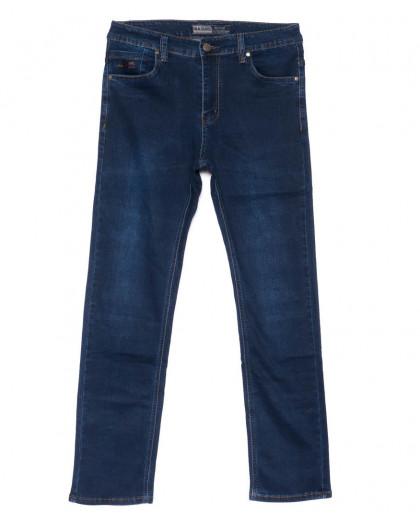 6650 Bagrbo джинсы мужские синие полубатальные весенние стрейчевые (32-42, 8 ед.) Bagrbo
