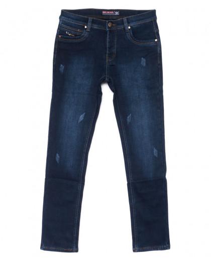 3712 Bigboss джинсы мужские синие молодежные весенние стрейчевые (28-36, 8 ед.) Bigboss
