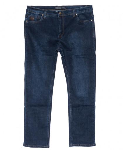 2217 Bagrbo джинсы мужские синие полубатальные весенние стрейчевые (32-42, 8 ед.) Bagrbo