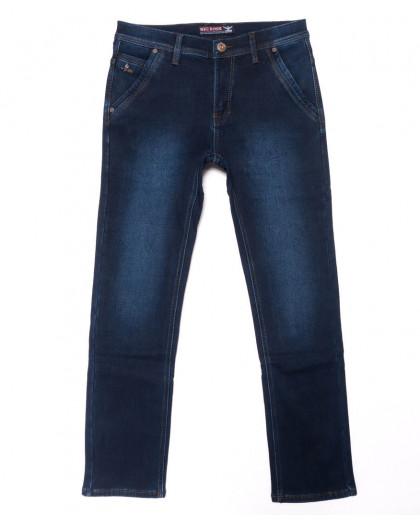 3723 Bigboss джинсы мужские синие на флисе зимние стрейчевые (29-38, 8 ед.) Bigboss