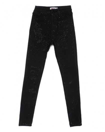 3184 Xray американка модная черная весенняя стрейчевая (26-32, 7 ед.) XRAY