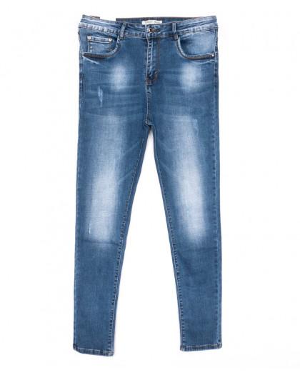 0322 Forest Jeans американка батальная синяя весенняя стрейчевая (31-38, 6 ед.) Forest Jeans