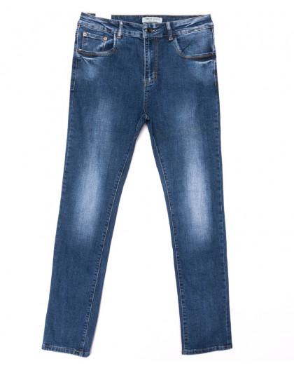 0328 Forest Jeans джинсы женские батальные синие весенние стрейчевые (30-36, 6 ед.) Forest Jeans