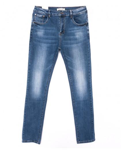 0329 Forest Jeans джинсы женские батальные синие весенние стрейчевые (31-38, 6 ед.) Forest Jeans