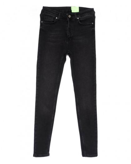 2183 X джинсы женские зауженные серые весенние стрейчевые (34-42,евро, 4 ед.) X