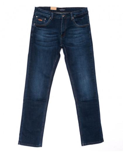 5021 Vitions джинсы мужские полубатальные синие весенние стрейчевые (32-38, 8 ед.) Vitions