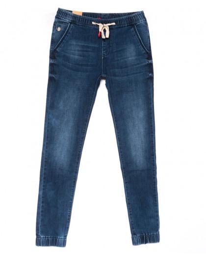 5013-A Vitions джинсы мужские молодежные на резинке синие весенние стрейчевые (27-34, 8 ед.) Vitions