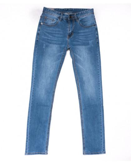 9013 Mark Walker джинсы мужские с царапками синие весенние стрейчевые (29-36, 8 ед.) Mark Walker