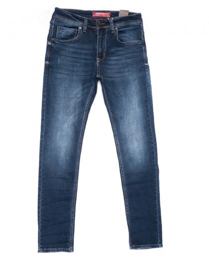 6166 Fashion Red джинсы мужские синие весенние стрейчевые (29-36, 8 ед.) Fashion Red