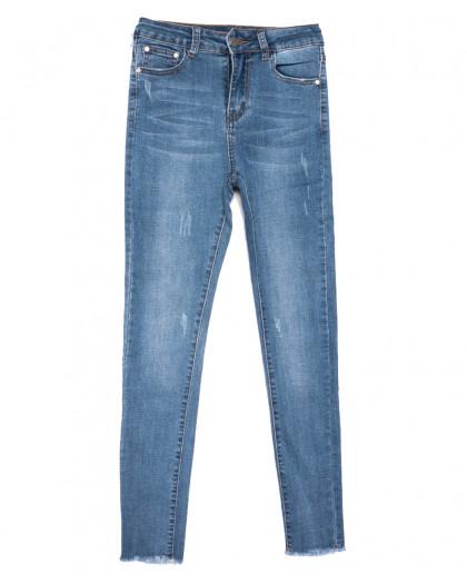 3621 New jeans джинсы женские зауженные синие весенние стрейчевые (25-30, 6 ед.) New Jeans