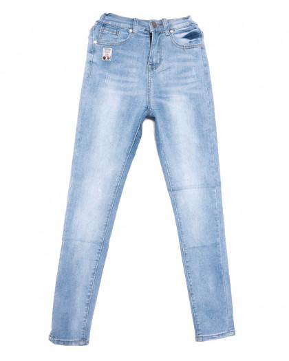 3646 New jeans джинсы женские зауженные синие весенние стрейчевые (25-30, 6 ед.) New Jeans