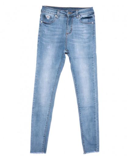 3575 New jeans джинсы женские зауженные синие весенние стрейчевые (25-30, 6 ед.) New Jeans