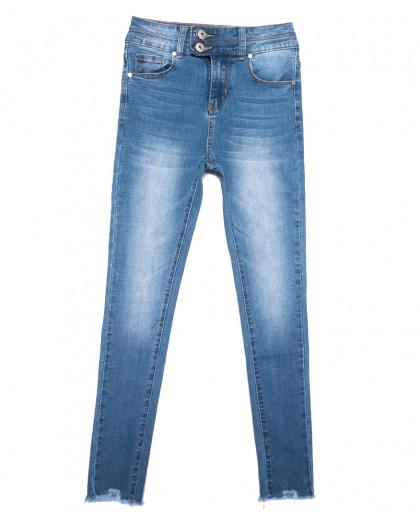 3656 New jeans джинсы женские зауженные синие весенние стрейчевые (25-30, 6 ед.) New Jeans