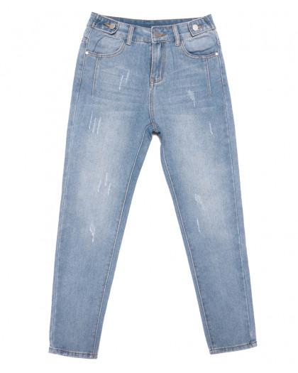 3649 New jeans мом синий весенний коттоновый (25-30, 6 ед.) New Jeans