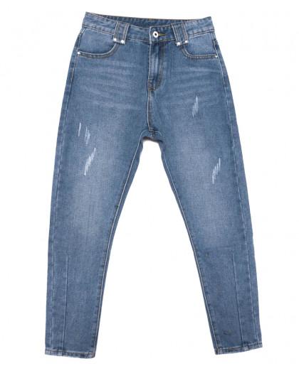 3648 New jeans мом синий весенний коттоновый (25-30, 6 ед.) New Jeans