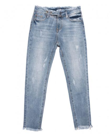 3632 New jeans мом синий весенний коттоновый (25-30, 6 ед.) New Jeans