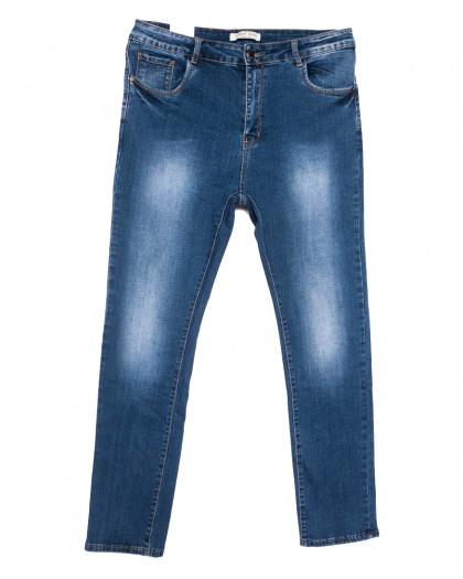 0340 Forest Jeans американка батальная синяя весенняя стрейчевая (32-42, 6 ед.) Forest Jeans