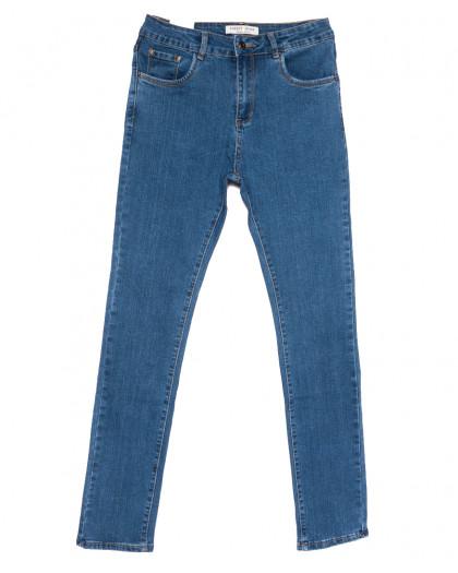 0335 Forest Jeans американка полубатальная синяя весенняя стрейчевая (28-33, 6 ед.) Forest Jeans