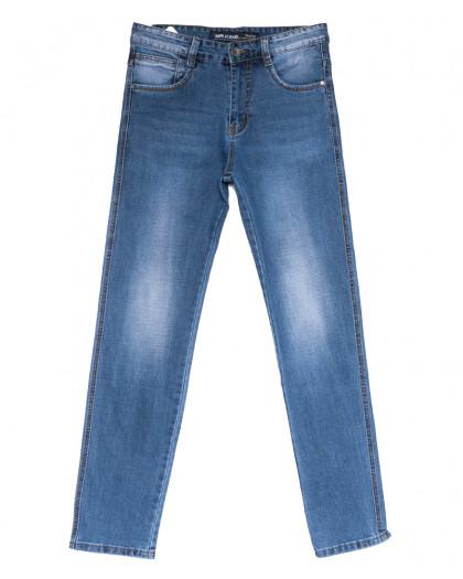 8208 Mr.King джинсы мужские батальные синие весенние стрейчевые (32-38, 8 ед.) Mr.King