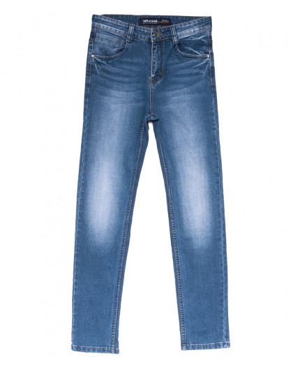 8212 Mr.King джинсы мужские батальные синие весенние стрейчевые (31-38, 8 ед.) Mr.King