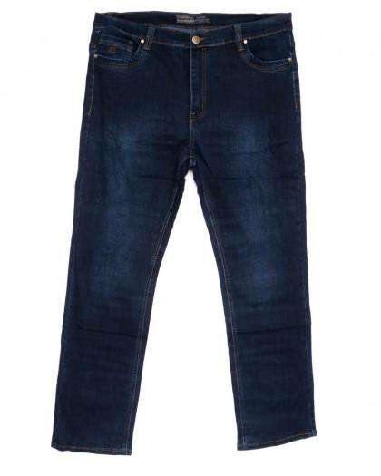 8812 Bagrbo джинсы мужские полубатальные синие весенние стрейчевые (32-42, 8 ед.) Bagrbo
