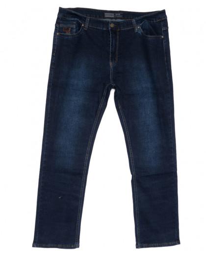 3321 Bagrbo джинсы мужские батальные синие весенние стрейчевые (36-46, 8 ед.) Bagrbo