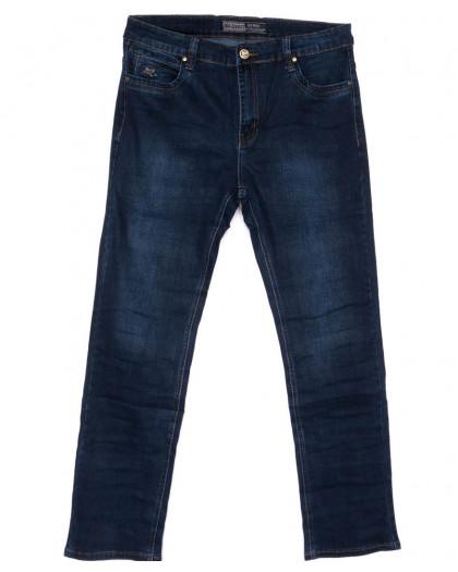 8822 Bagrbo джинсы мужские батальные синие весенние стрейчевые (34-44, 8 ед.) Bagrbo