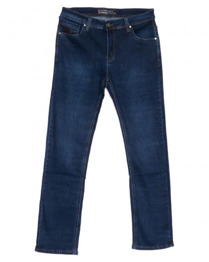 6636 Bagrbo джинсы мужские полубатальные синие весенние стрейчевые (33-38, 8 ед.) Bagrbo