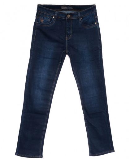 6632 Bagrbo джинсы мужские полубатальные синие весенние стрейчевые (32-38, 8 ед.) Bagrbo