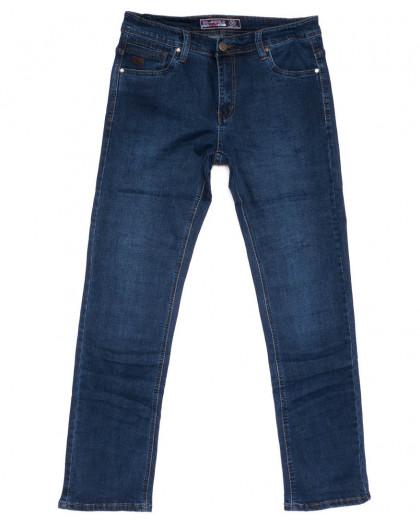 6607 Bagrbo джинсы мужские полубатальные синие весенние стрейчевые (32-38, 8 ед.) Bagrbo