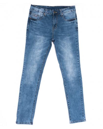 2049 New jeans джинсы мужские синие весенние стрейчевые (29-38, 8 ед.) New Jeans