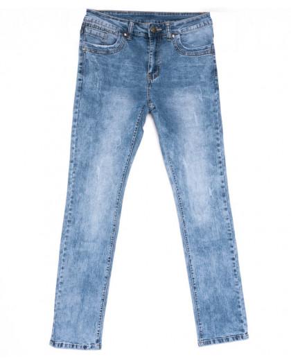 2047 New jeans джинсы мужские с царапками синие весенние стрейчевые (29-38, 8 ед.) New Jeans