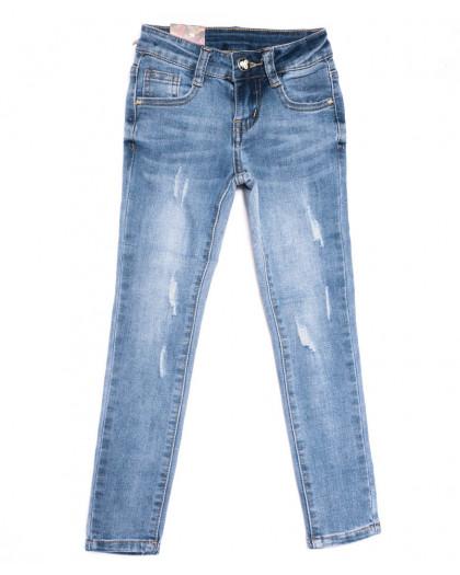 0089 Miss Happy джинсы на девочку синие весенние стрейчевые (20-25, 6 ед.) Miss Happy