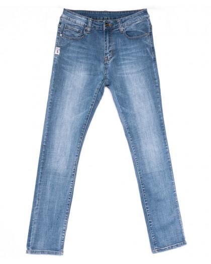 2050 New jeans джинсы мужские синие весенние стрейчевые (29-38, 8 ед.) New Jeans
