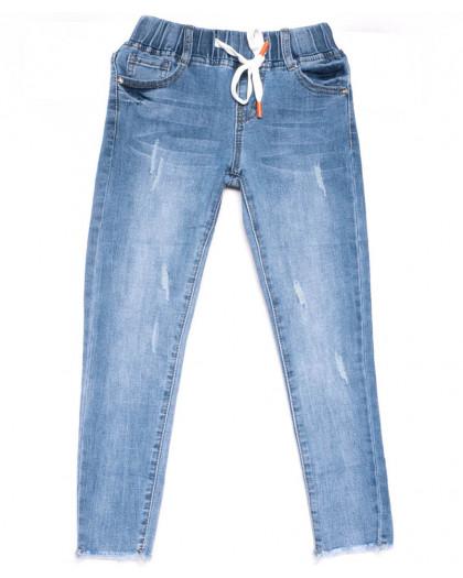 0087 Miss Happy джинсы на девочку синие весенние стрейчевые (23-28, 6 ед.) Miss Happy