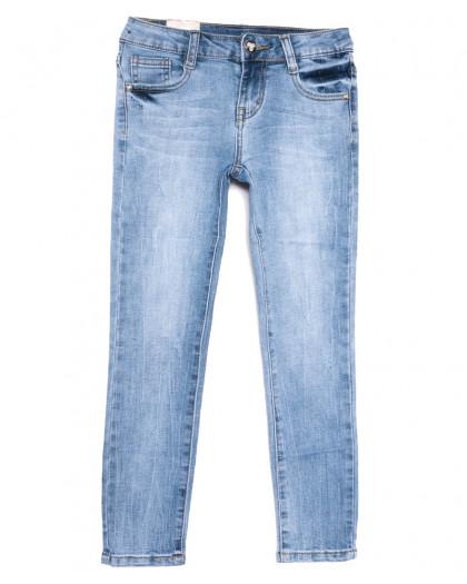 0086 Miss Happy джинсы на девочку синие весенние стрейчевые (23-28, 6 ед.) Miss Happy
