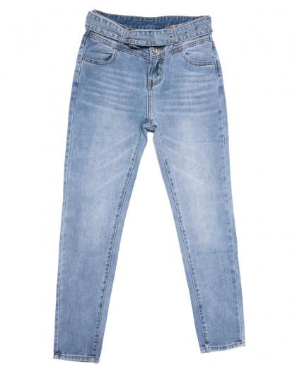 3669 New jeans мом синий весенний коттоновый (25-30, 6 ед.) New Jeans