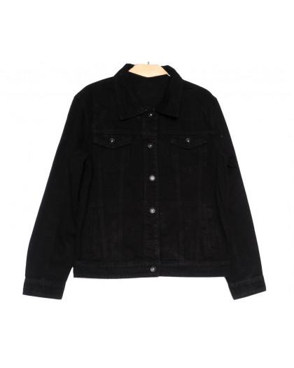 0818 New jeans куртка джинсовая женская черная весенняя коттоновая (S-XXL, 6 ед.) New Jeans