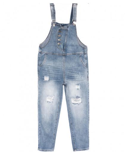 3636 New jeans комбинезон синий весенний коттоновый (25-30, 6 ед.) New Jeans