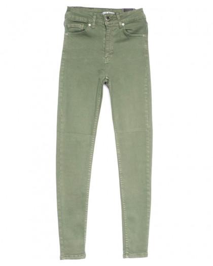 1489 Haki Its Basic джинсы женские зауженные хаки весенние стрейчевые (25-30, 6 ед.) Its Basic